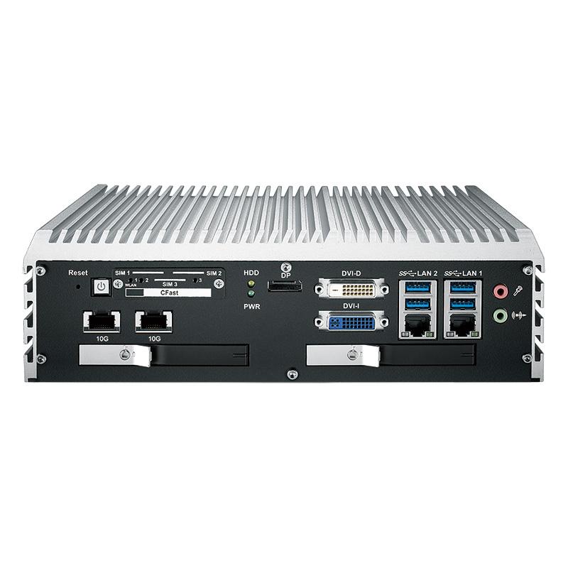 10G Ethernet Systems , Fanless Box PCs - ECS-9055R