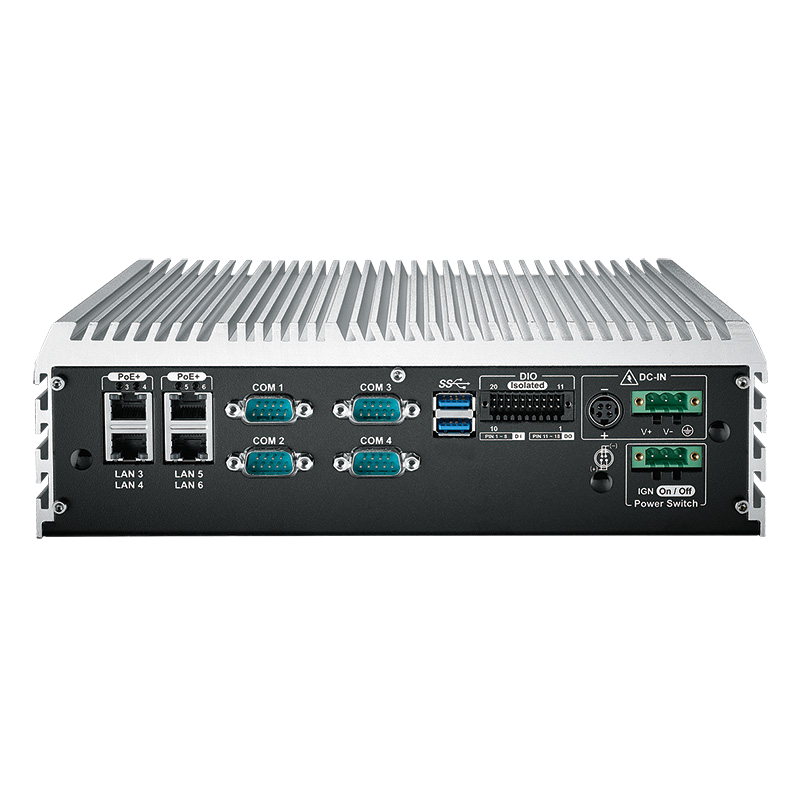 10G Ethernet Systems , Box PC Fanless - ECS-9055