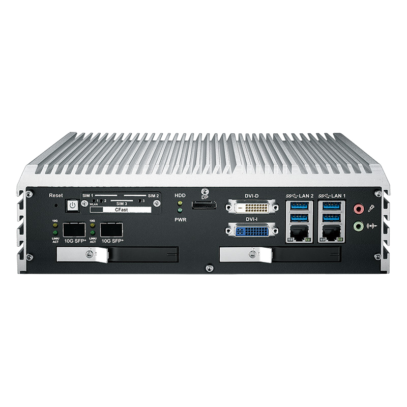 10G Ethernet Systems , Fanless Box PCs - ECS-9071R