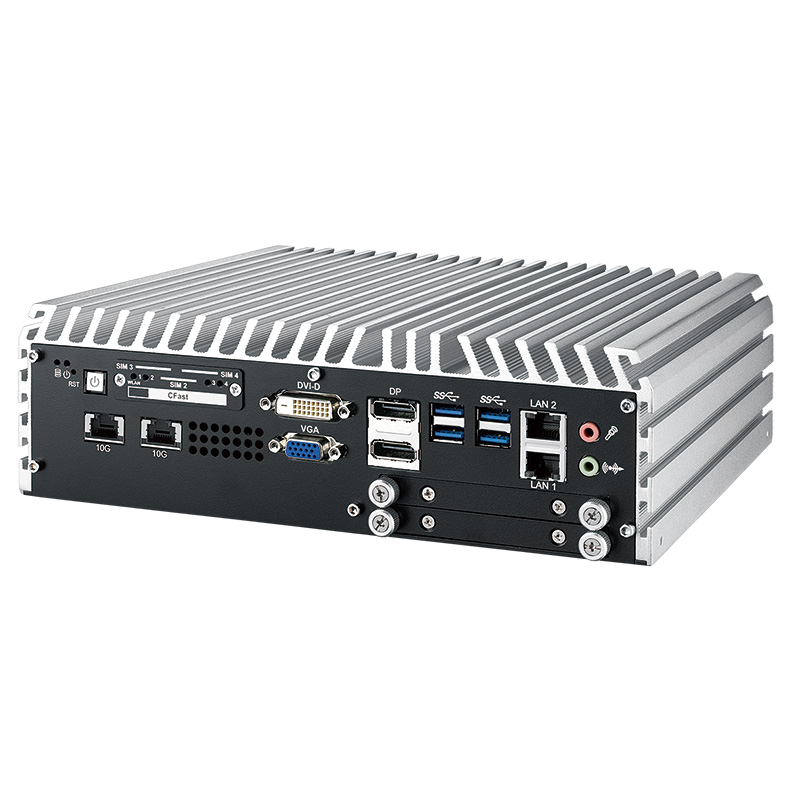 10G Ethernet Systems , Fanless Box PCs - ECS-9755