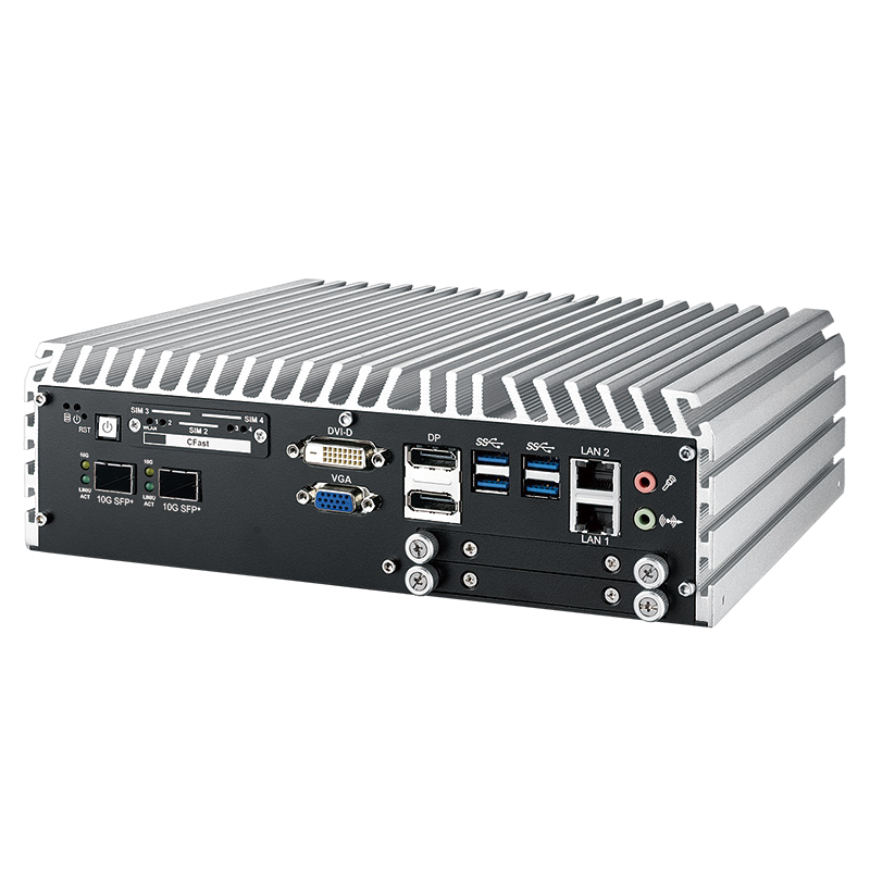 10G Ethernet Systems , Fanless Box PCs - ECS-9771