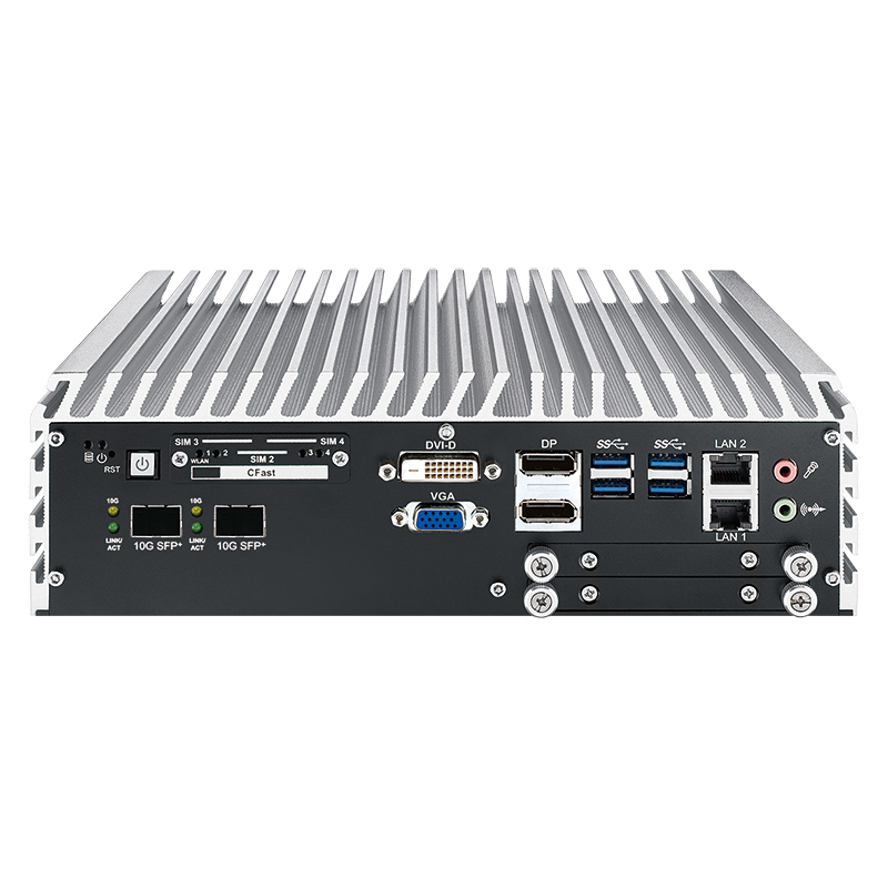 10G Ethernet Systems , Box PC Fanless - ECS-9771