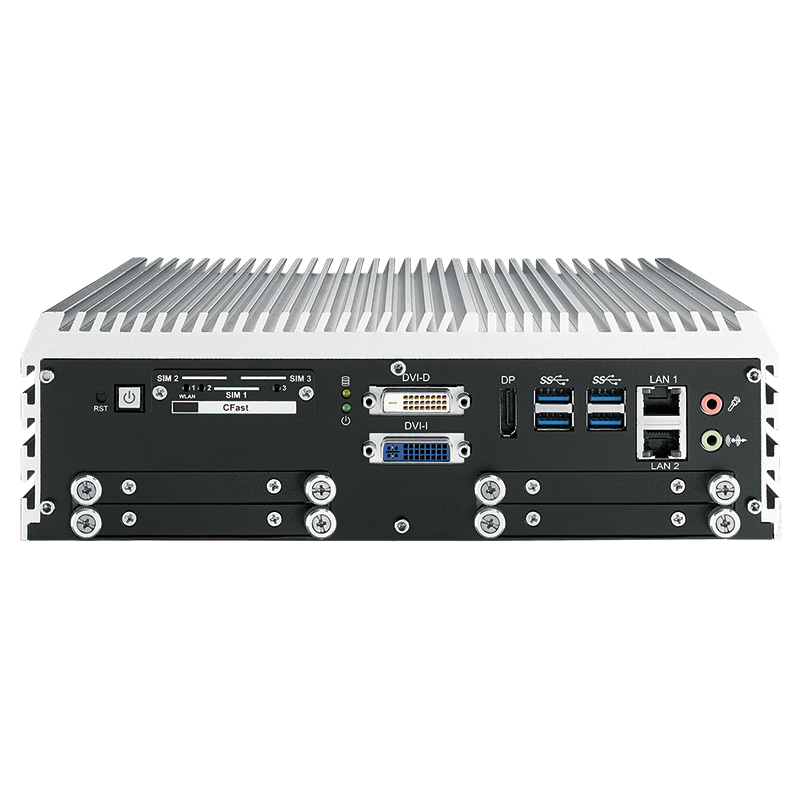 Fanless Box PCs , In Vehicle - IVH-9204MXC