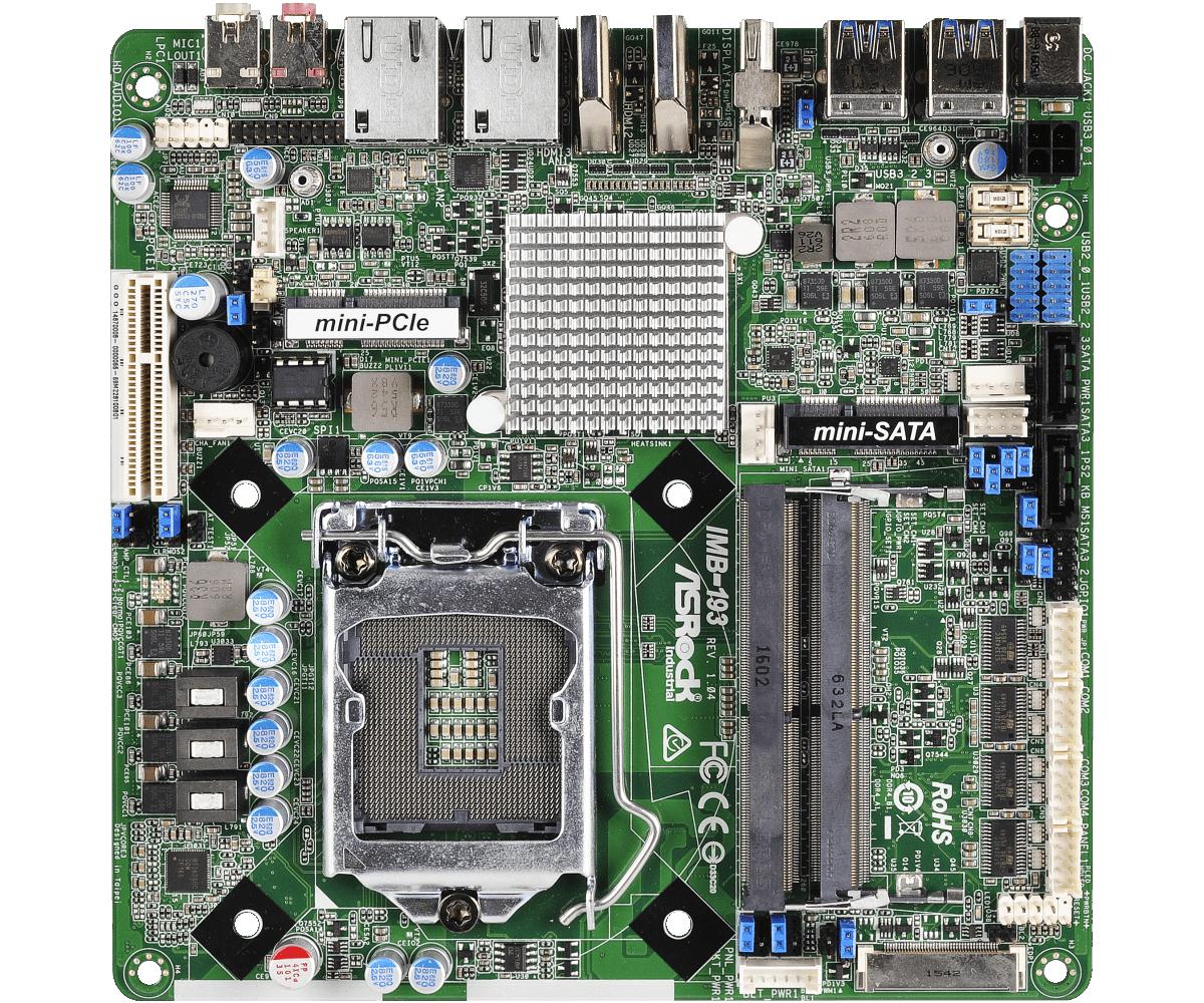 Mini-ITX , SBC EMBEDDED - IMB-193