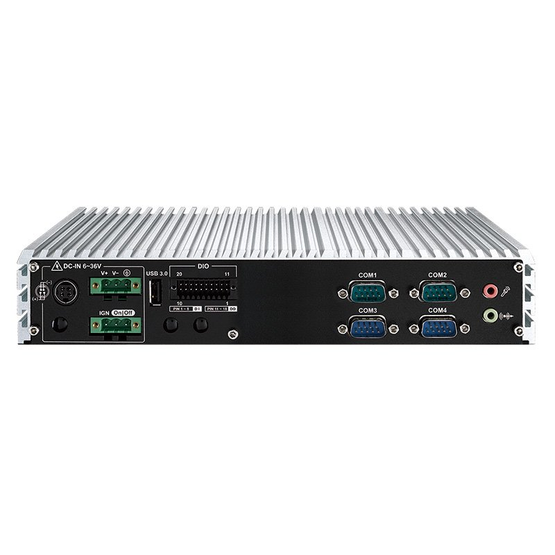 Fanless PC Box , Ultra-Compact Systems - ECS-4500-PDR