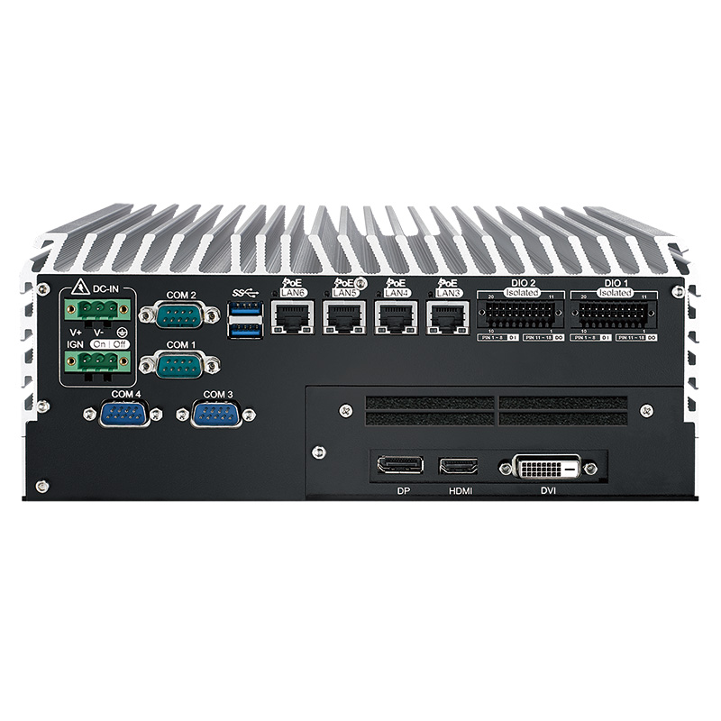 Fanless PC Box , GPU Computing Systems - ECS-9771-GTX1050