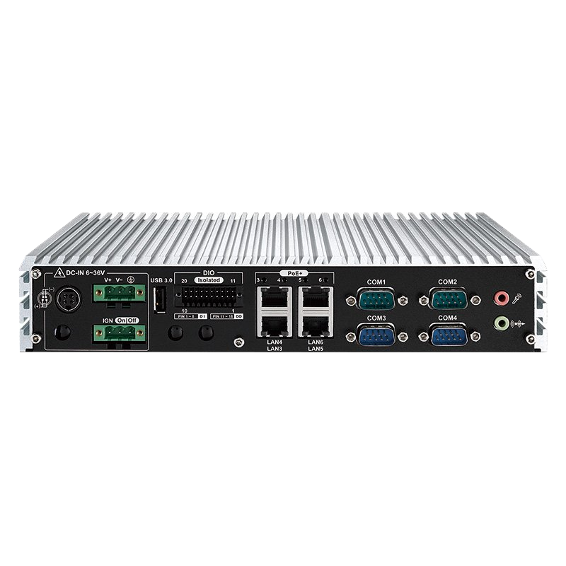 Box PC Fanless , Ultra-Compact Systems - ECS-4500-PoE