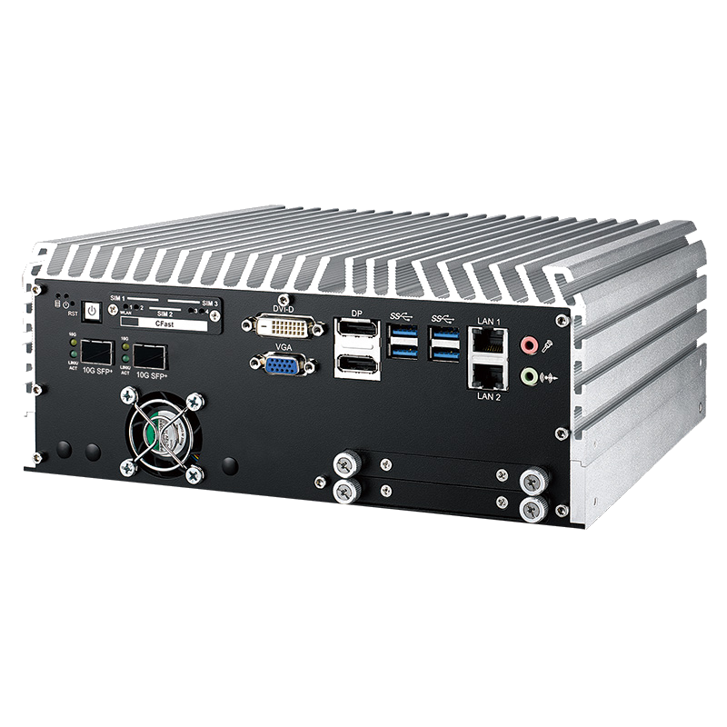 Fanless Box PCs , GPU Computing Systems - ECS-9771-GTX1050