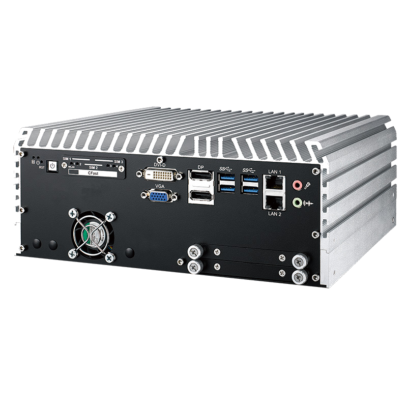 Fanless Box PCs , GPU Computing Systems - ECS-9780-GTX1050