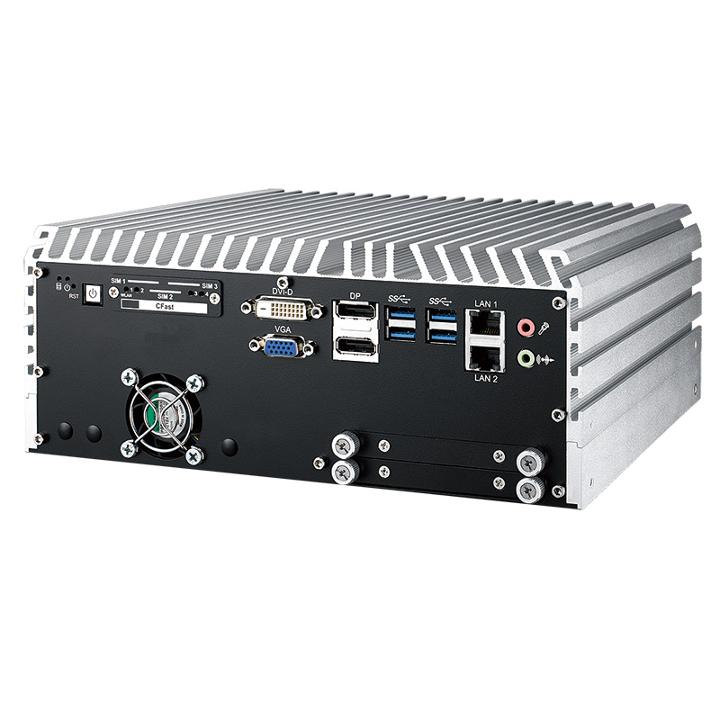 Fanless PC Box , GPU Computing Systems - ECS-9780-GTX1050