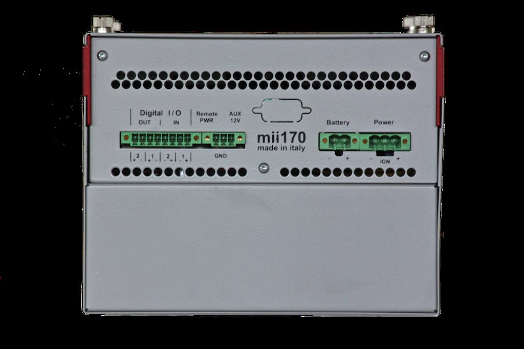 mii170 Series - mii170-1xPCIex8+1PCIex4