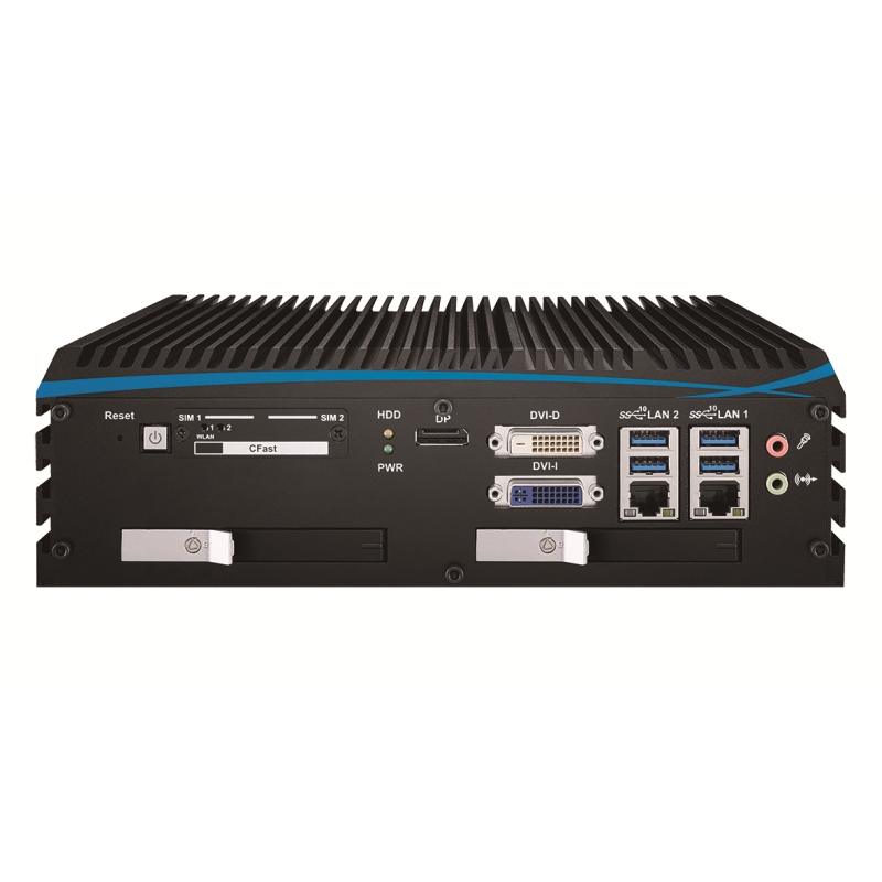 Box PC Fanless , High-Performance Systems - ECX-1000-2R