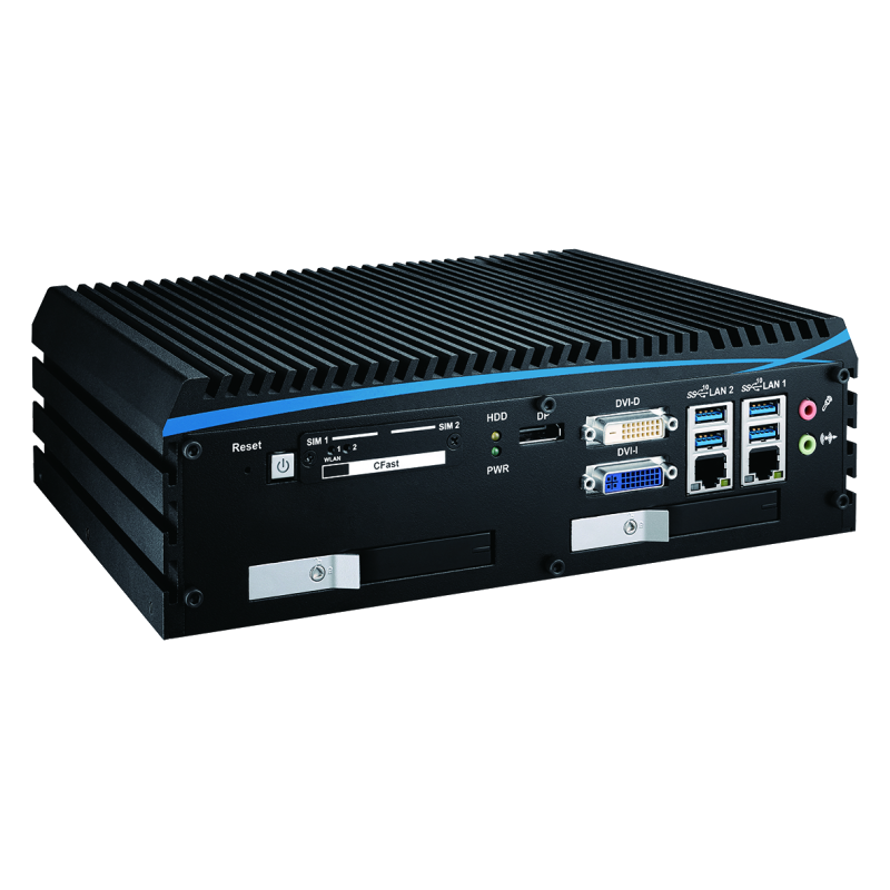 Fanless Box PCs , High-Performance Systems - ECX-1000-4R