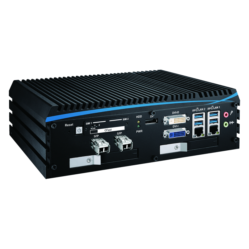 Box PC Fanless , High-Performance Systems - ECX-1000-6FR
