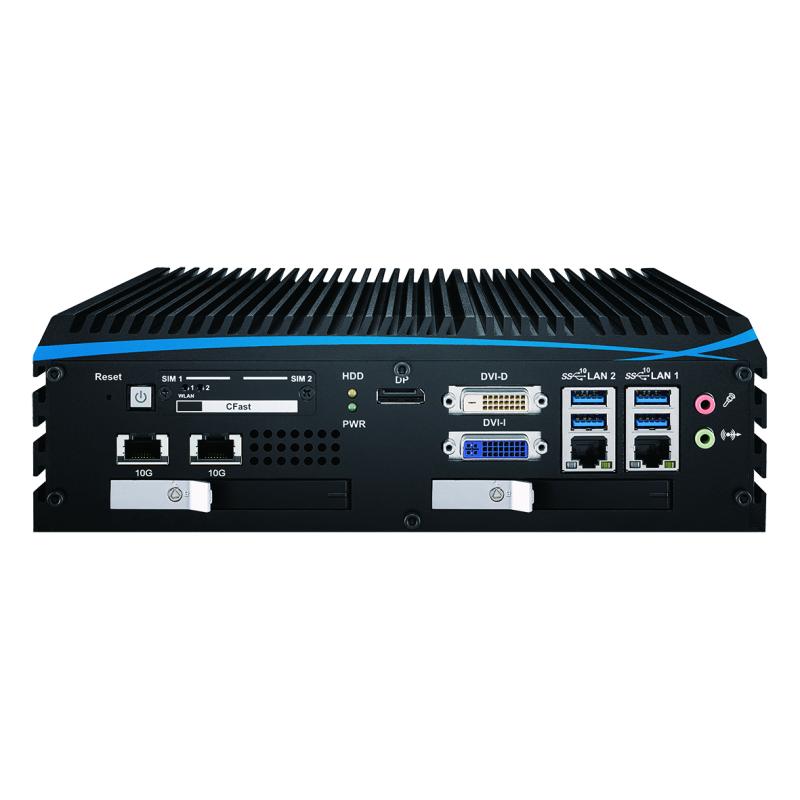 10G Ethernet Systems , Fanless Box PCs - ECX-1055R