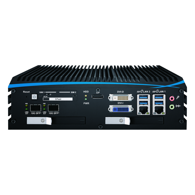 10G Ethernet Systems , Fanless Box PCs - ECX-1071R