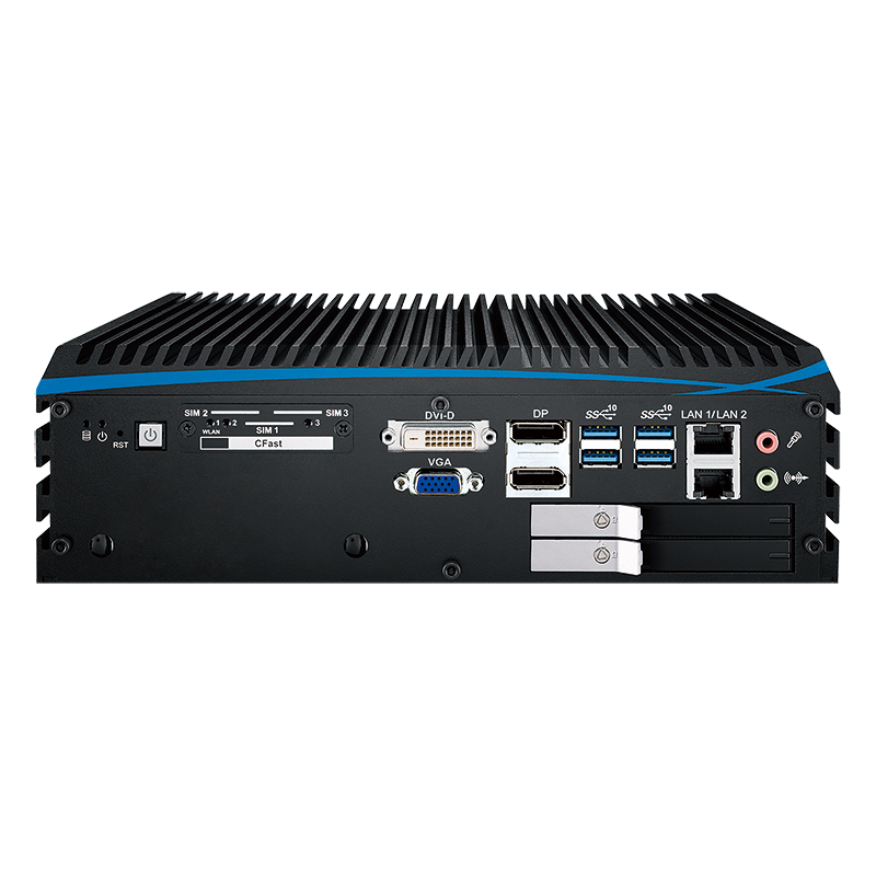 Box PC Fanless , Expandable Systems - ECX-1201M