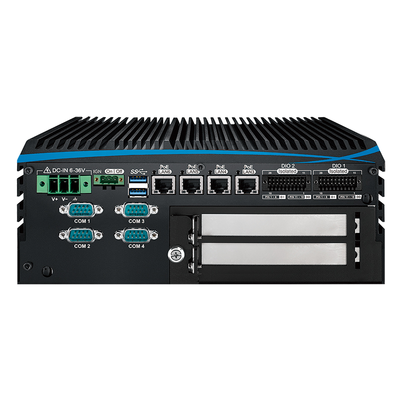 Box PC Fanless , Expandable Systems - ECX-1402