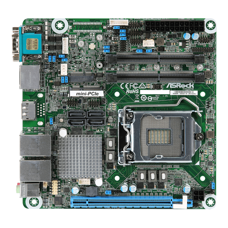 Mini-ITX , SBC Embedded - IMB-1210-L/IMB-1210-D