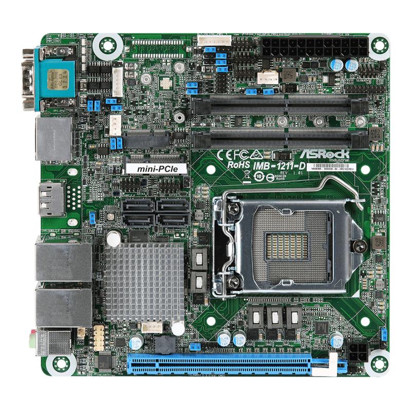 Embedded SBCs , Mini-ITX - IMB-1211-L/IMB-1211-D