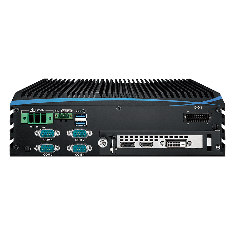 Fanless Box PCs , GPU Computing Systems - ECX-1100 GTX1050