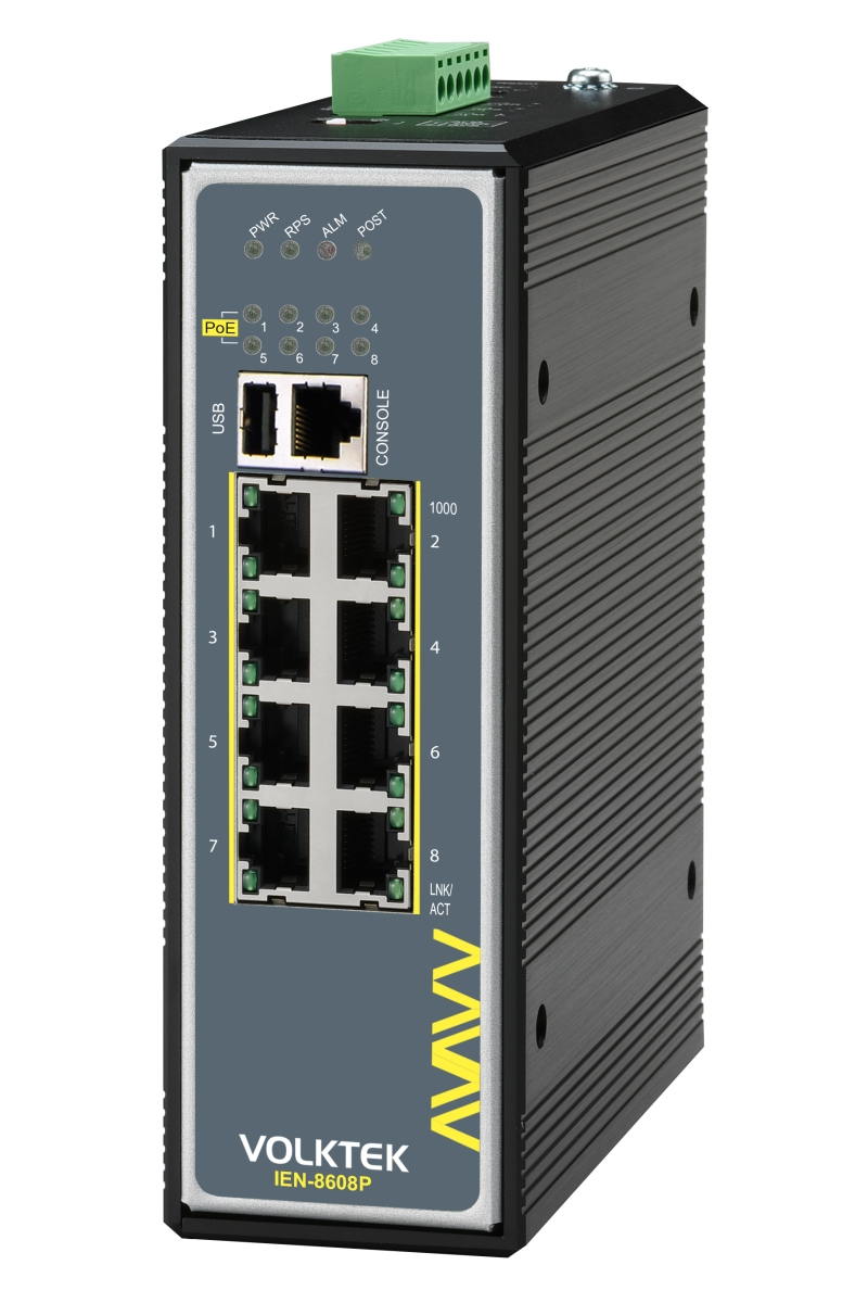 Industrial Ethernet Switches , Managed - IEN-8608PA