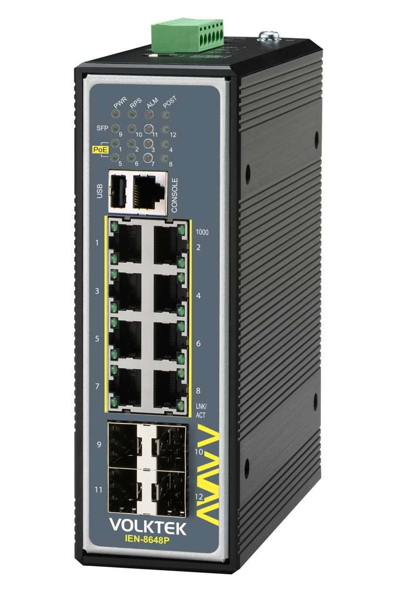 Industrial Ethernet Switches , Managed - IEN-8648PA