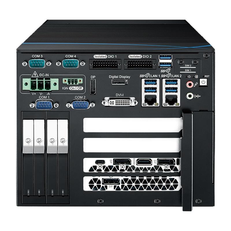 Fanless PC Box , GPU Computing Systems - RTX-1400FR-RTX2080