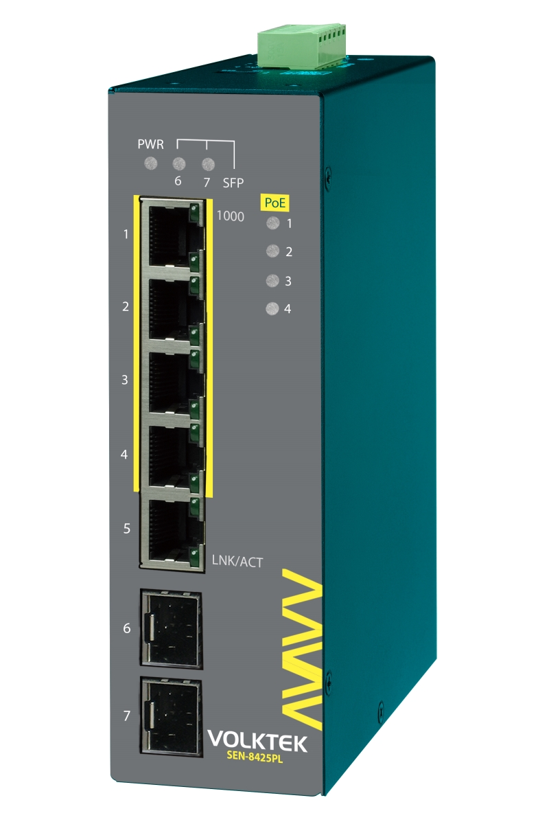 Industrial Ethernet Switches , Lite Managed - SEN-8425PL