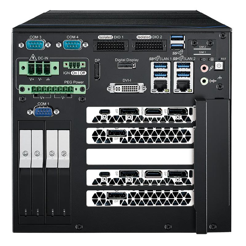 Fanless Box PCs , GPU Computing Systems - RCX-1500R RTX2080D