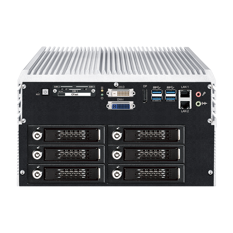 Fanless Box PCs , In Vehicle - IVH-9204MX ICY