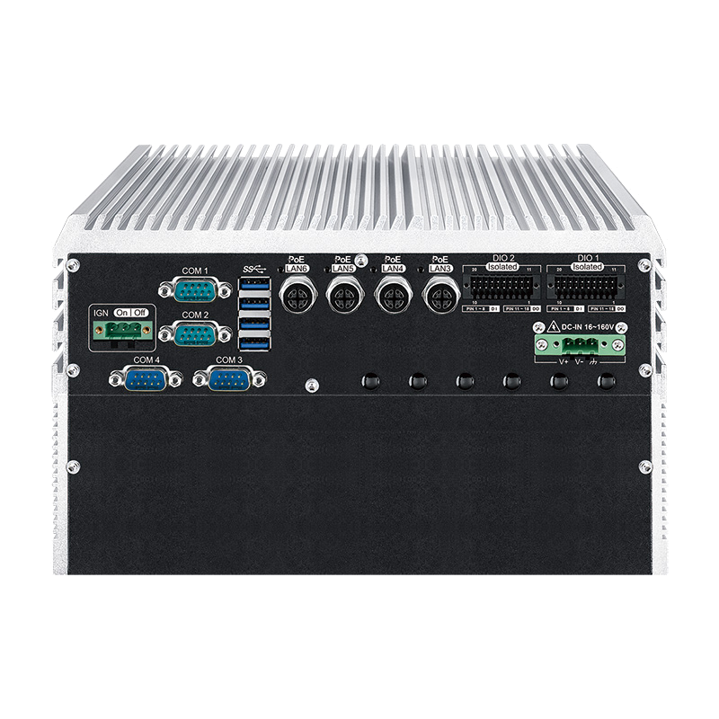 Box PC Fanless , In Vehicle - IVH-9204MX ICY