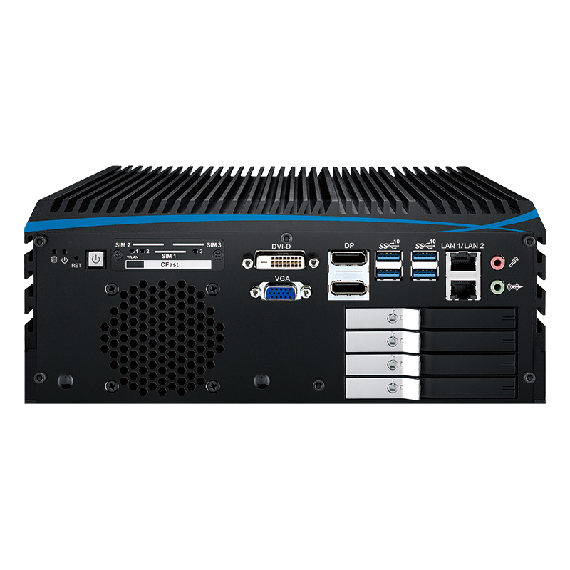 Box PC Fanless , GPU Computing Systems - ECX-1300 PEG