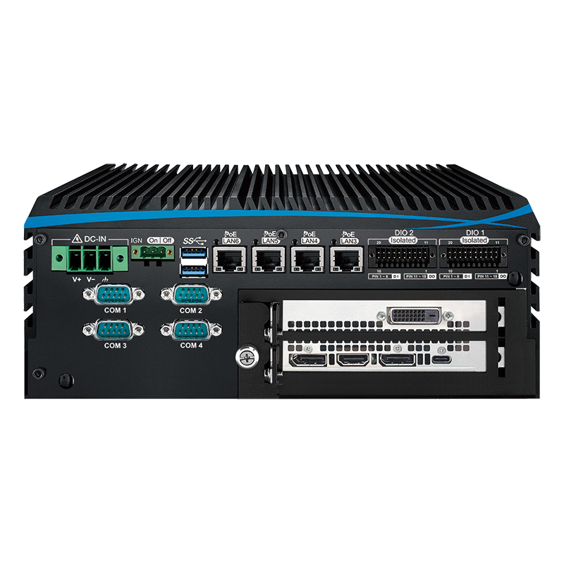 Fanless Box PCs , GPU Computing Systems - ECX-1400 PEG