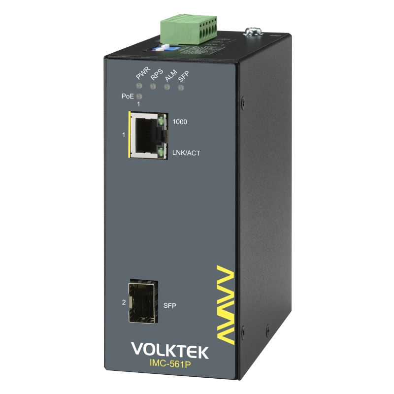 Industrial Ethernet Converters , Unmanaged - IMC-561P