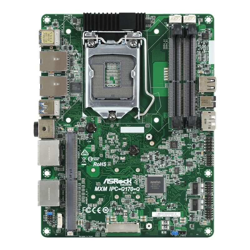 Micro-STX , Motherboard Industriali - MXM IPC-Q170-Q
