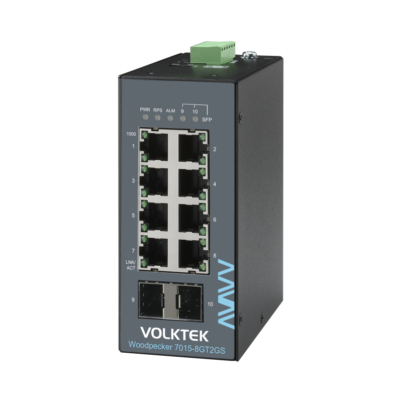 Industrial Ethernet Switches , Unmanaged - Woodpecker 7015