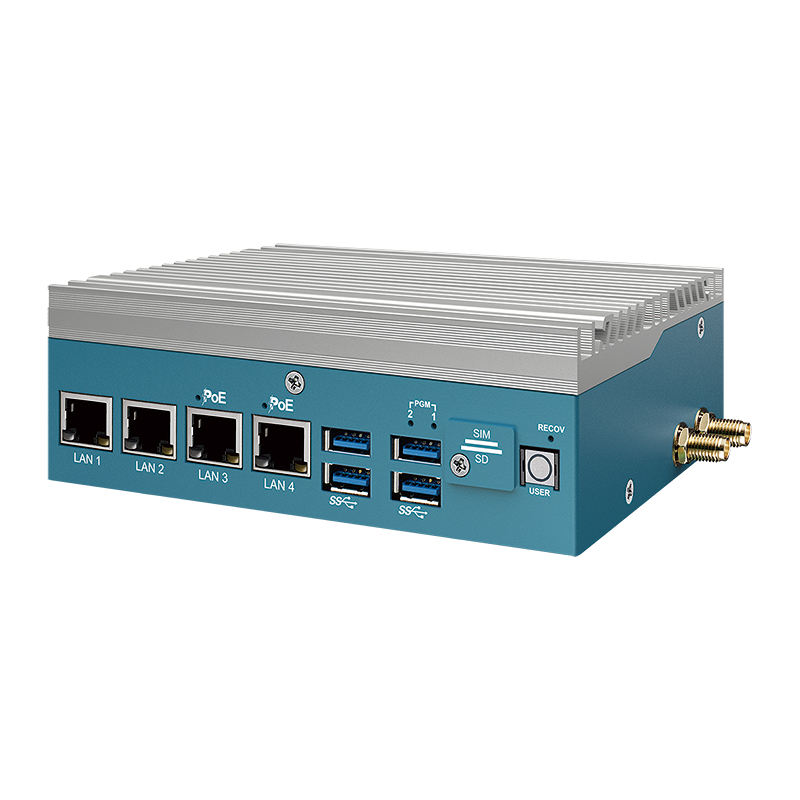 Box PC Fanless , Ultra-Compact Systems - EAC-2000